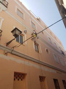 Trabajos verticales en Sevilla
